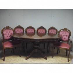 Стол нераскладной 1,7 м.+ 6...