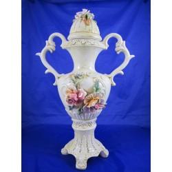 Ваза высокая керамика Италия