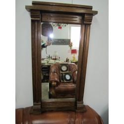 Зеркало в дубовой раме