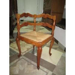 Кресло угловое барокко