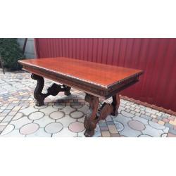 Стол столовый раскладной антик