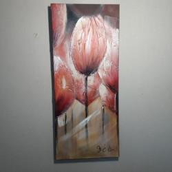 картина без рамы Тюльпаны