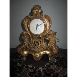 Часы каминные золотые  на...
