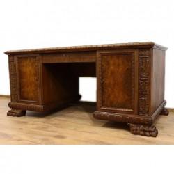 стол письменный львиные лапи
